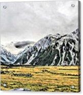 Southern Alps Nz Acrylic Print