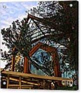 Southern California's Wafarers Chapel 2 Acrylic Print