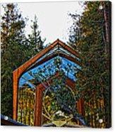 Southern California's Wafarers Chapel 3 Acrylic Print