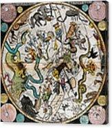 Southern Celestial Planisphere 1790 Acrylic Print