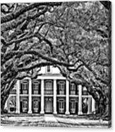Southern Class Monochrome Acrylic Print