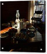 Southern Dinning Acrylic Print