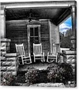 Southern Front Porch 1 Acrylic Print