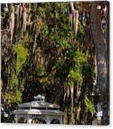 Southern Gothic In Mount Dora Florida Acrylic Print