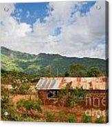 Southern Kenya Poverty Landscape Acrylic Print