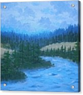 Southern Oregon Waters Acrylic Print
