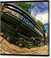 Southern Pacific 2472 Steam Engine 1921 Sunol Station Acrylic Print