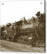 Southern Pacific Steam Locomotives No. 2847 2-8-0 1901 Acrylic Print