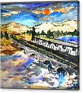 Southern River Dam Acrylic Print