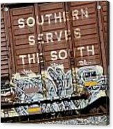 Southern Serves The South Acrylic Print