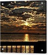 Southern Sunrise Acrylic Print