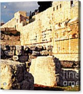 Southern Temple Mount Acrylic Print