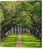Southern Time Travel Acrylic Print by Steve Harrington