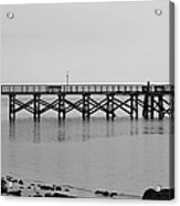 Southport Fishing Pier Acrylic Print