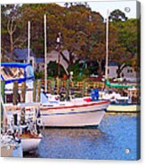 Southport Watercolor Acrylic Print
