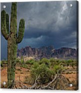 Southwest Monsoon Skies  Acrylic Print