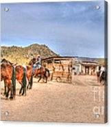Southwest Ride Acrylic Print