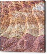 Southwest Stone Abstract 2 Acrylic Print