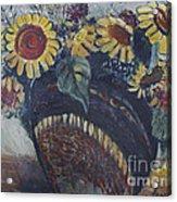 Southwest Sunflowers Acrylic Print