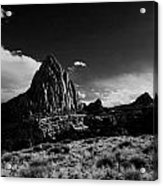 Southwestern Beauty In Black And White Acrylic Print