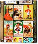 Souvenir Copies Of Old Spanish Acrylic Print
