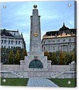 Soviet Red Army Monument Budapest Hungary Acrylic Print