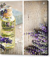 Spa With Lavender  Acrylic Print