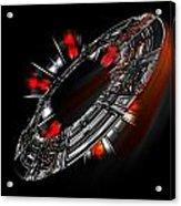 Space City Acrylic Print