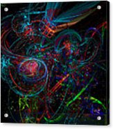 Space Junk Mental Energy From Earth Acrylic Print