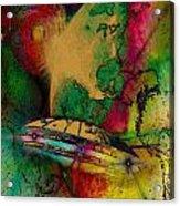 Space Nebula Acrylic Print
