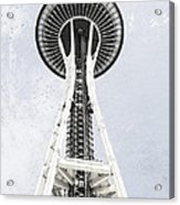 Space Needle Seattle Acrylic Print