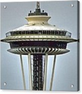 Space Needle Tower Seattle Washington Acrylic Print