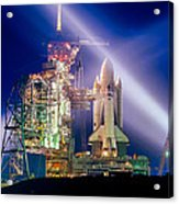 Space Shuttle Columbia Acrylic Print