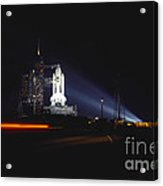 Space Shuttle Columbia Acrylic Print