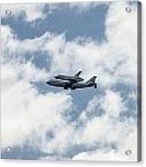 Space Shuttle Enterprise  Acrylic Print
