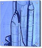 Space Shuttle Acrylic Print