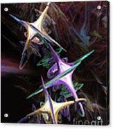 Space Station Alpha Acrylic Print