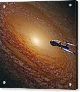 Space The Final Frontier Acrylic Print