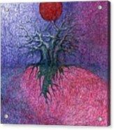 Space Tree Acrylic Print