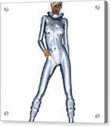 Spacegirl 3... Acrylic Print