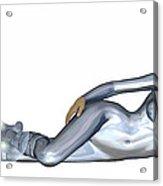 Spacegirl 5... Acrylic Print