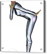 Spacegirl 6... Acrylic Print