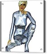 Spacegirl 8... Acrylic Print