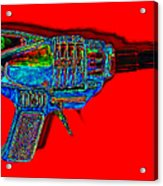 Spacegun 20130115v1 Acrylic Print