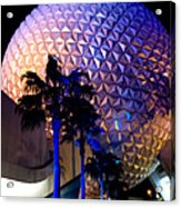 Spaceship Earth Acrylic Print