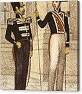 Spain 1833. Royal Guard Infantry Acrylic Print