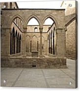 Spain. Cardona. Castle And Collegiate Acrylic Print