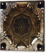 Spain. Cordoba. Mezquita Mosque. Dome Acrylic Print