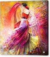 Spain - Flamencoscape 12 Acrylic Print