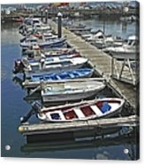 Row Boats In Spain Series 27 Acrylic Print
